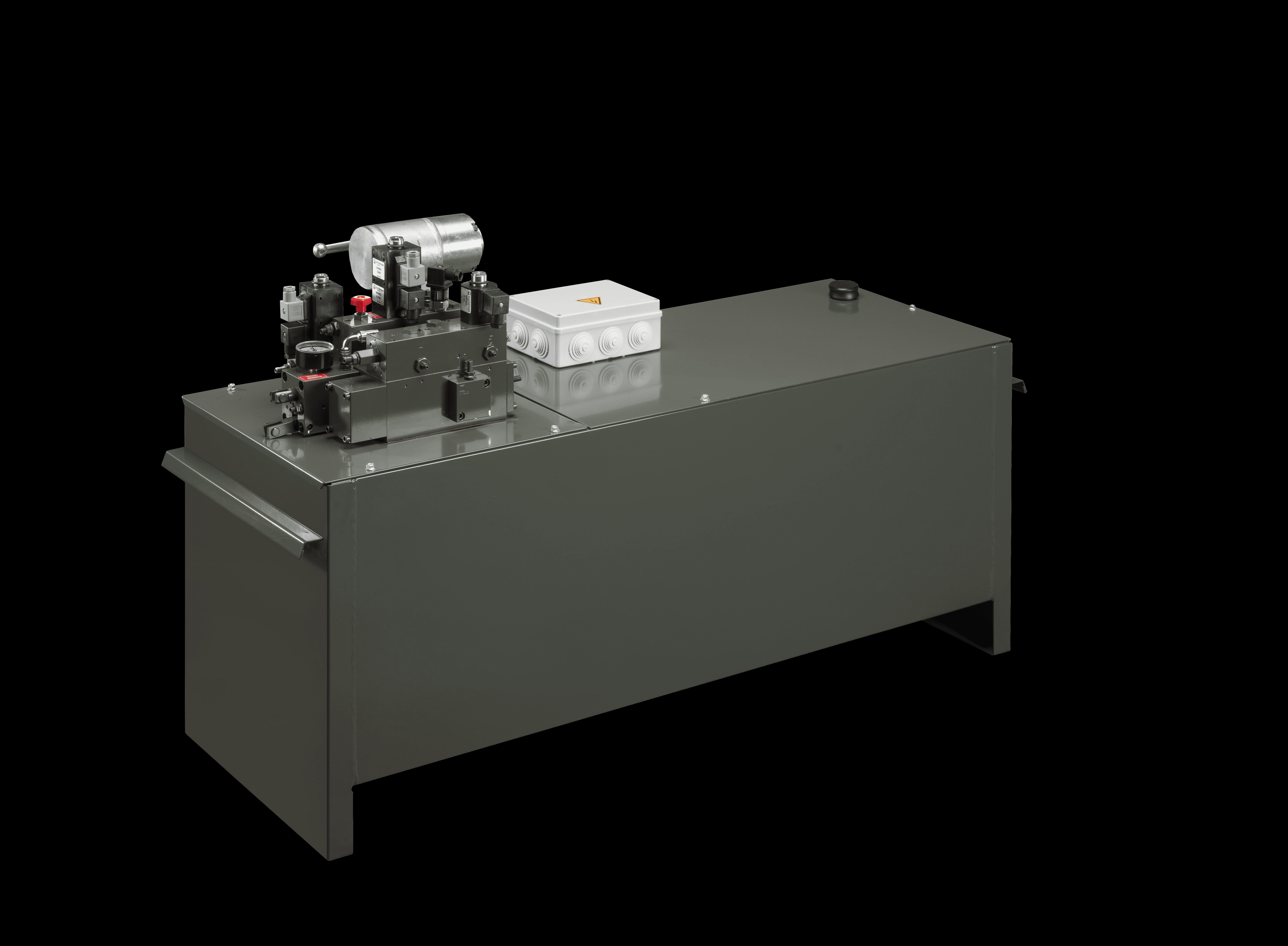 hydraulic pump unit pit